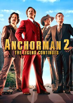 Anchorman 2: The Legend Continues / ???????????? 2: ??????? ?????????